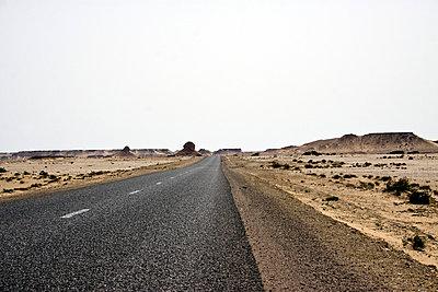 Desert road - p7540126 by Valea Diller-El Khazrajy