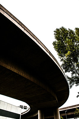 Motorway flyover overpass - p1082m2031005 by Daniel Allan