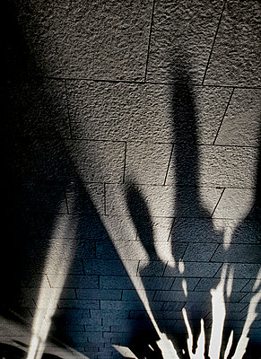 Pedestrian shadows - p1125m917358 by jonlove