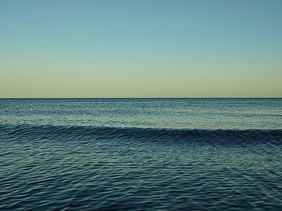 Baltic Sea rippling water surface - p1200m1131676 by Carsten Görling
