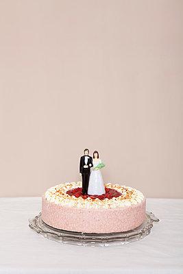 Hochzeitstorte - p4541154 von Lubitz + Dorner