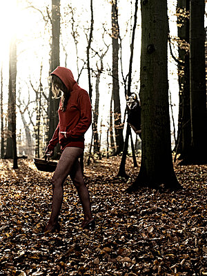 Little Red Riding Hood - p551m939045 by Kai Peters