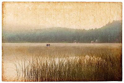 Stiller See - p1693m2291266 von Fran Forman