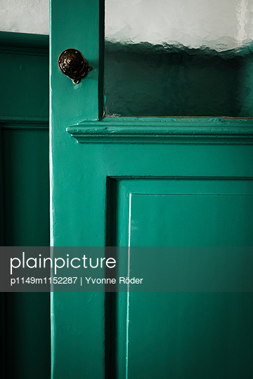 Grüne Tür - p1149m1152287 von Yvonne Röder