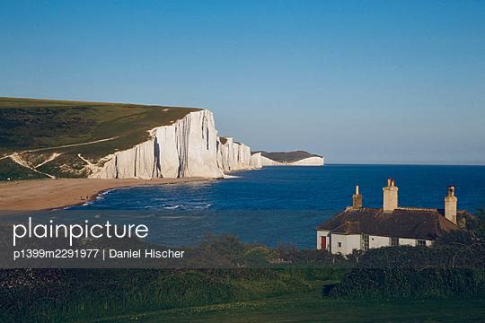 Gread Britain, Seaford, Cliff, Seven Sisters - p1399m2291977 by Daniel Hischer