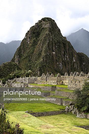 Peru, Machu Picchu - p1643m2229365 by janice mersiovsky
