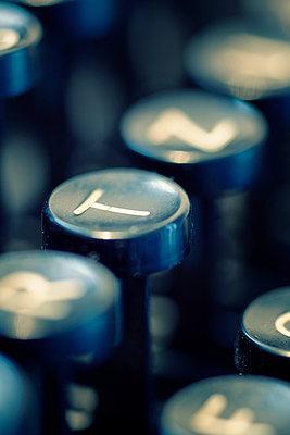 Tastatur einer Schreibmaschine - p3300232 von Harald Braun