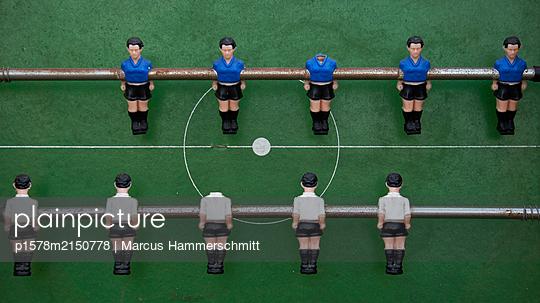Vor dem Spiel - p1578m2150778 von Marcus Hammerschmitt