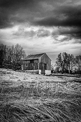 Barn - p1256m2098961 by Sandra Jordan