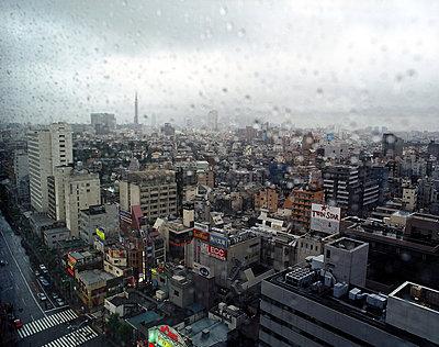 Rain in Tokyo - p2681985 by Marco Bohr