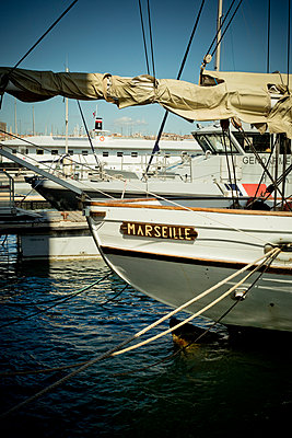 "Boat ""Marseille"" - p445m1153168 by Marie Docher"