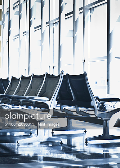 Airport Departure Seating - p1100m2090811 by Mint Images