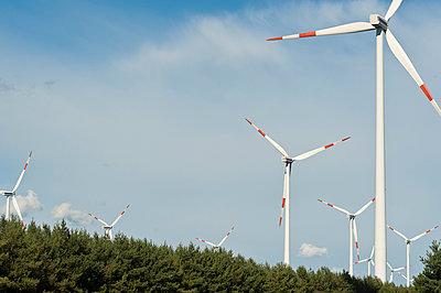 Windpark Cottbus Halde - p1079m1042143 von Ulrich Mertens