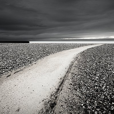 Way to the beach - p1137m1497589 by Yann Grancher