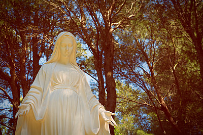 Statue of the Virgin mary - p294m944506 by Paolo