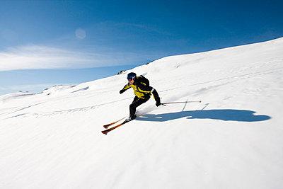 Skier, Whistler, Canada  - p3226824 by Simo Vunneli