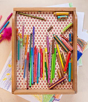 im Kinderzimmer - p781m1000202 von Angela Franke