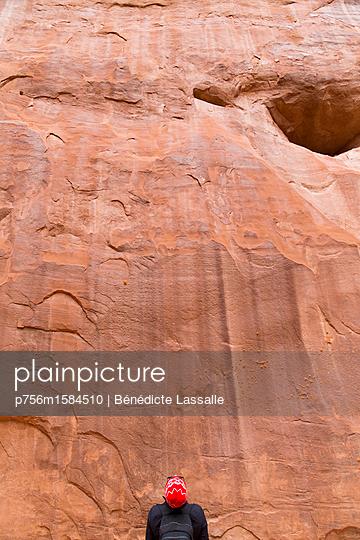 Felswand - p756m1584510 von Bénédicte Lassalle