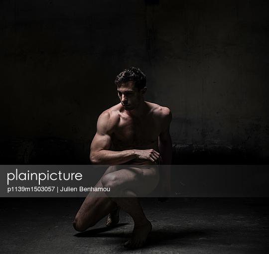 Naked male dancer - p1139m1503057 by Julien Benhamou