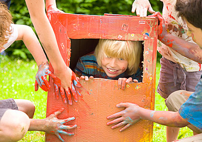 Children playing - p6690940 by Jutta Klee photography