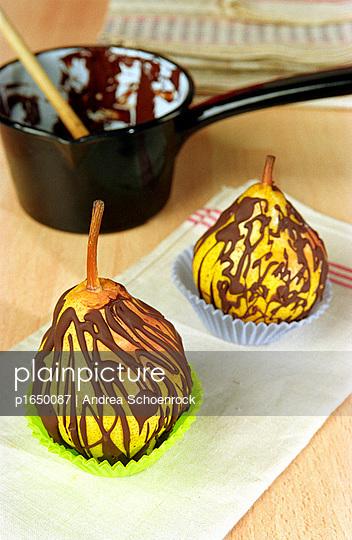 Schokoladenbirnen - p1650087 von Andrea Schoenrock