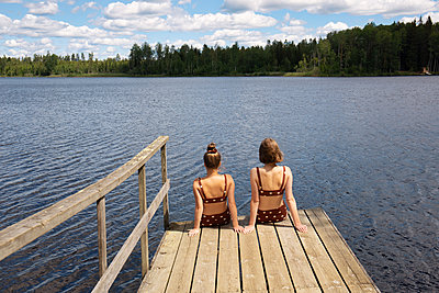 Relaxing by the lake - p294m2132889 by Paolo