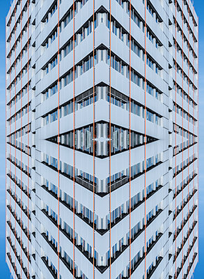 Abstract Kaleidoscope High-rise - p401m2211961 by Frank Baquet