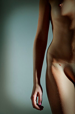 Part of a woman's body - p4130746 by Tuomas Marttila