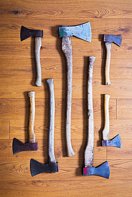 Axes and hatchets - p1149m2014951 by Yvonne Röder