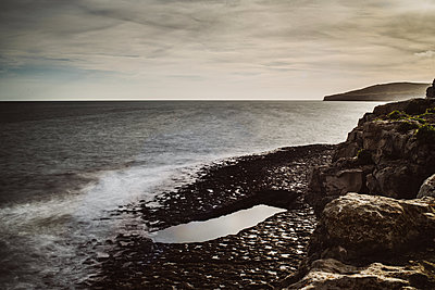 Tide pool by the sea - p1326m2099818 by kemai