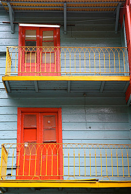 Colourful Buildings In Caminito - p644m785818 by Mark Thomas