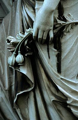 Friedhofsstatue - p3300014 von Harald Braun