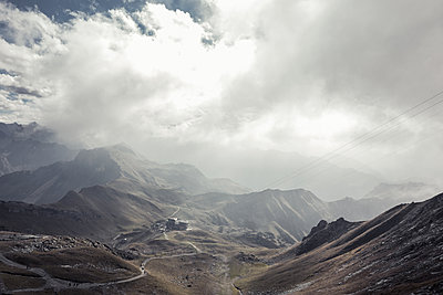 Oberstdorf in mountain scenery - p354m1133788 by Andreas Süss