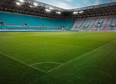 Football stadium - p390m881092 by Frank Herfort