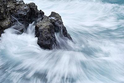 rocks in black sea waters near sevastopol - p3165559 by Yevgen Timashov