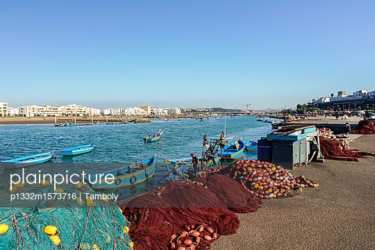 Fischerhafen in Rabat - p1332m1573716 von Tamboly