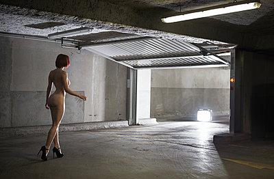 Parking lot - p1081m1064295 by Cédric Roulliat