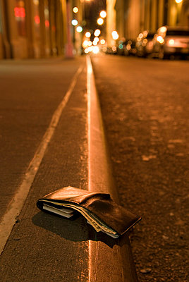 Lost Wallet on an Empty Street - p5690176 by Jeff Spielman