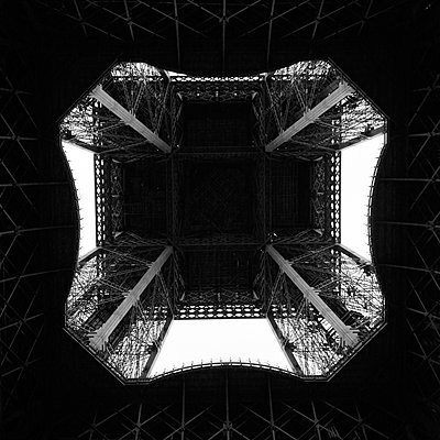 Detail of Eiffel tower - p1146m940353 by Stephanie Uhlenbrock