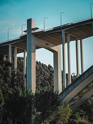Portugal, Bridge - p1681m2263305 by Juan Alfonso Solis
