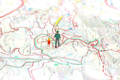 Wanderwege - p450m858645 von Hanka Steidle