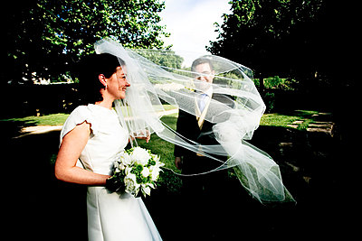 Bridal couple - p4450260 by Marie Docher