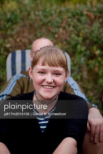 Junges Paar - p817m2016106 von Daniel K Schweitzer