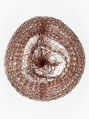 Pot scourer made of copper - p401m2196119 by Frank Baquet