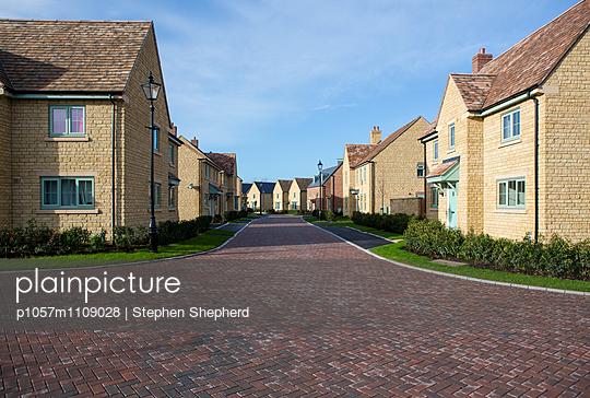 Wohngebiet, UK - p1057m1109028 von Stephen Shepherd