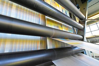 Printing machine in a printing shop - p300m2104336 by Sten Schunke