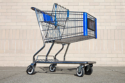Empty Shopping Cart - p1100m2090854 by Mint Images