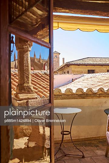 Roof terrace  in Palma de Majorca - p885m1424894 by Oliver Brenneisen