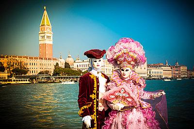 Venice Carnival - p1062m1039670 by Viviana Falcomer
