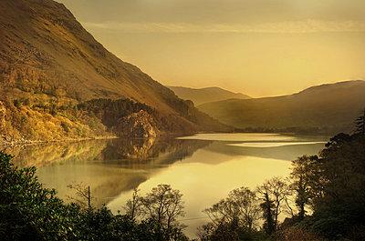 Countryside in Wales - p1072m830396 by Joe Eitzen